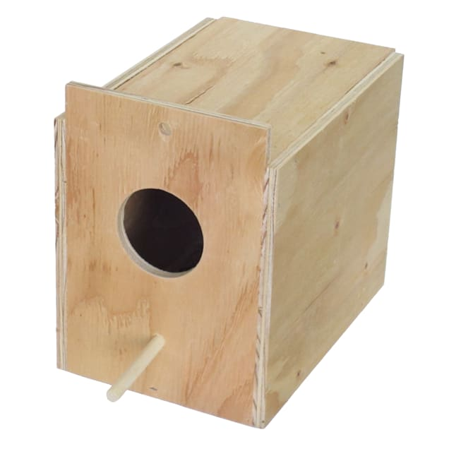 YML Assembled Wooden Nest Box for Outside Mount, Large - Carousel image #1