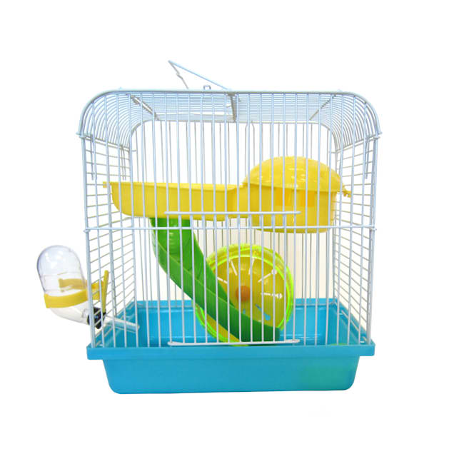 YML Blue Travel Mice, Dwarf hamster Cage, Small - Carousel image #1