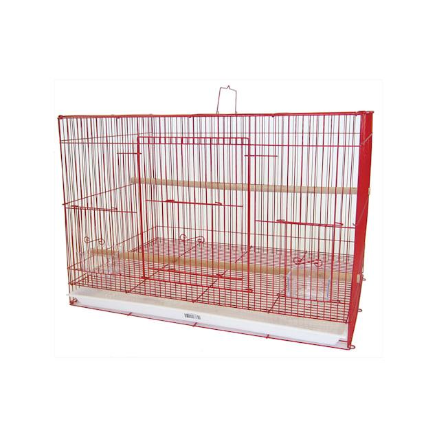 "YML Breeding Red Cage, 24"" L X 16"" W X 16"" H - Carousel image #1"