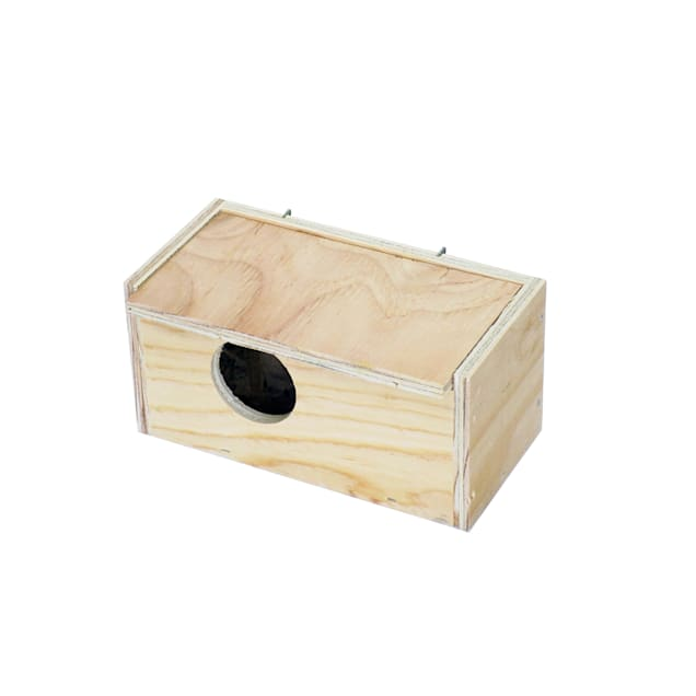 YML Assembled Wooden Nest Box for Inside Mount, Small - Carousel image #1