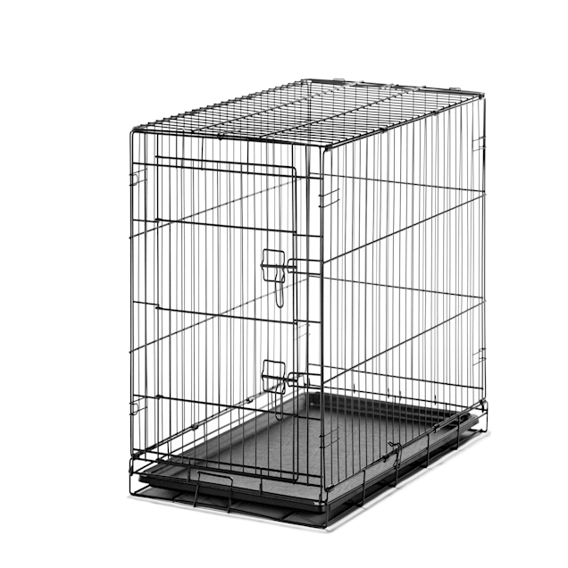 "Carlson Pet Products Intermediate Single Door Wire Crate, 36"" L X 23"" W X 25"" H - Carousel image #1"