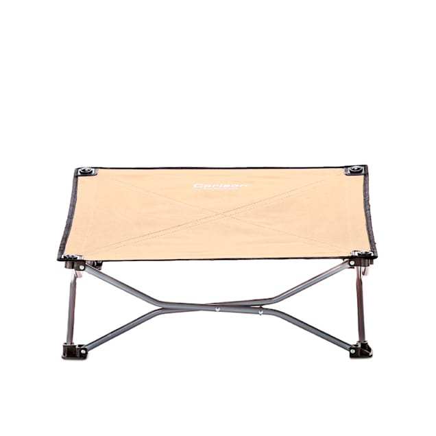 """Carlson Pet Products Tan Portable Pup Pet Bed, 26"""" L X 26"""" W X 9"""" H - Carousel image #1"""