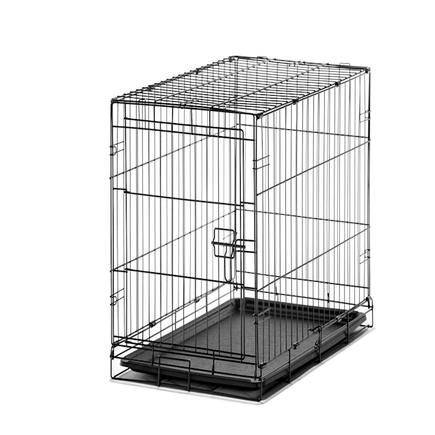 "Carlson Pet Products Medium Single Door Wire Crate, 30"" L X 19"" W X 21"" H - Carousel image #1"