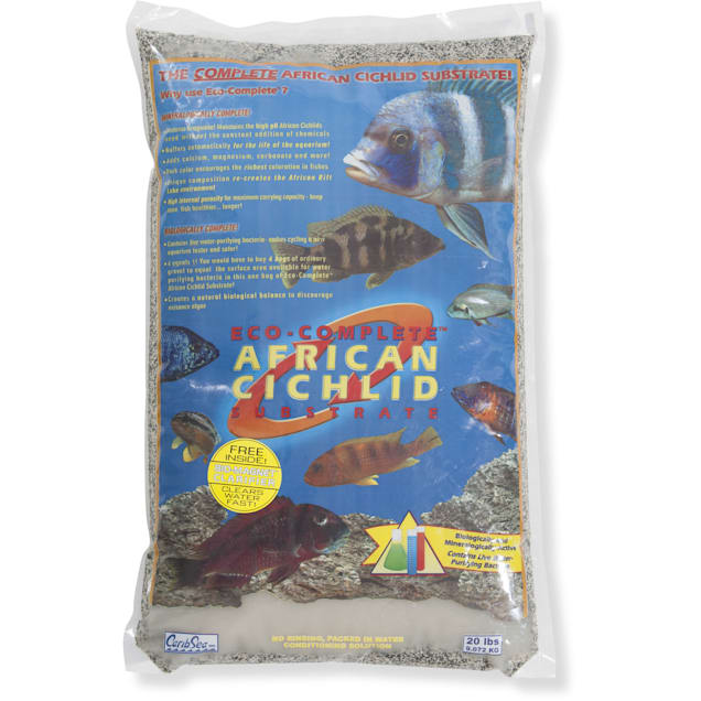 CaribSea Eco-Complete African Cichlid Sand Substrate, 20 lbs. - Carousel image #1