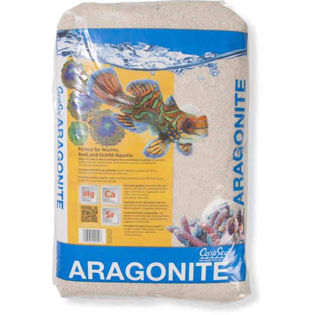 CaribSea Seaflor Special Grade Reef Sand Substrate, 40 lbs. - Carousel image #1