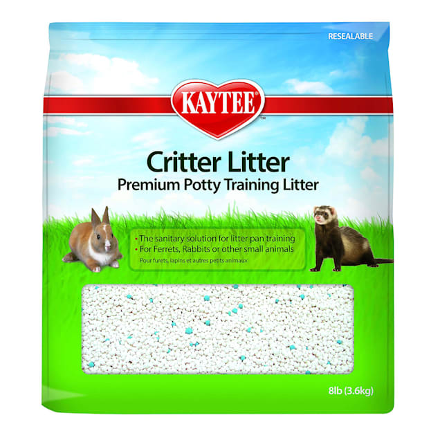 Kaytee Critter Litter Premium Potty Training Litter for Small Animals, 8 lbs. - Carousel image #1