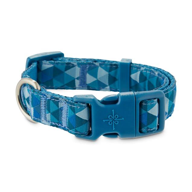 Good2Go Blue Prismatic Dog Collar, Small - Carousel image #1