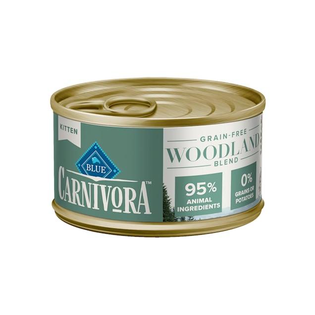 Blue Buffalo Blue Carnivora Woodland Blend Optimal Prey Nutrition High Protein, Grain Free Kitten Wet Food, 3 oz. - Carousel image #1