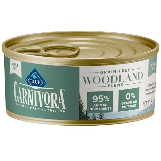 Blue Buffalo Blue Carnivora Woodland Blend Optimal Prey Nutrition Grain Free Adult Wet Cat Food, 5.5 oz. - Carousel image #1