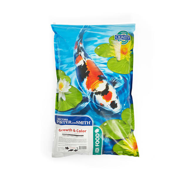 Drs. Foster and Smith Growth & Color Quality Koi and Goldfish Food, 20 lbs. - Carousel image #1