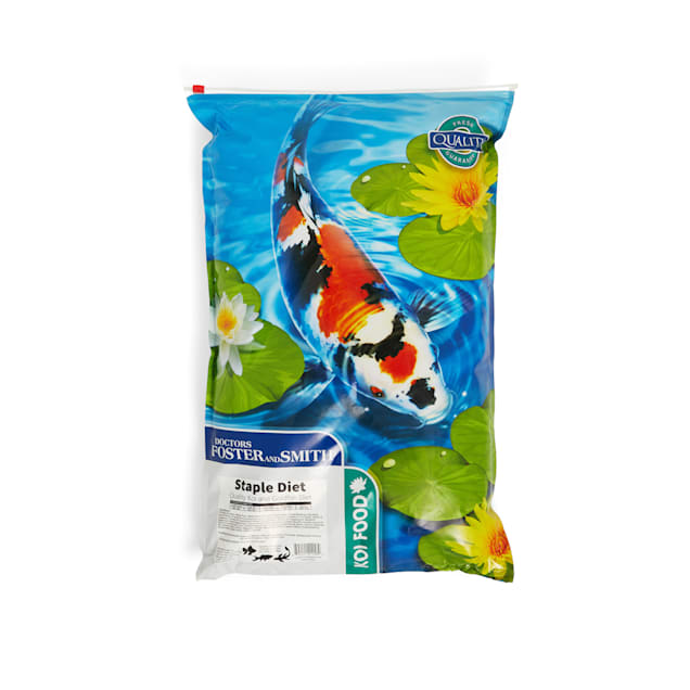 Drs. Foster and Smith Staple Diet Quality Koi and Goldfish Food, 20 lbs. - Carousel image #1