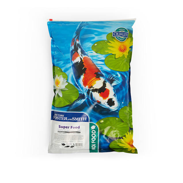 Drs. Foster and Smith Super Food Quality Koi and Goldfish Food, 20 lbs. - Carousel image #1