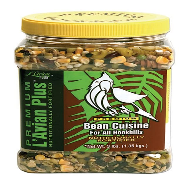 Premium L'Avian Plus Bean Cuisine Food for Hookbills, 3 lbs. - Carousel image #1