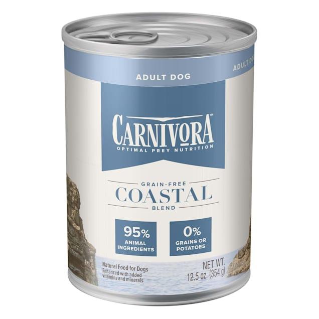 Blue Buffalo Blue Carnivora Coastal Blend Optimal Prey Nutrition Grain Free Adult Wet Dog Food, 12.5 oz., Case of 12 - Carousel image #1