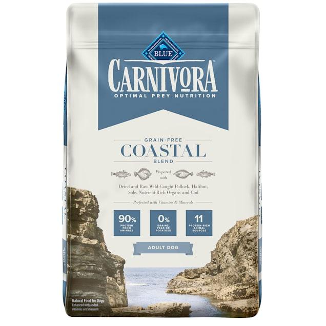 Blue Buffalo Blue Carnivora Coastal Blend Optimal Prey Nutrition High Protein, Grain Free Natural Adult Dry Dog Food, 22 lbs. - Carousel image #1