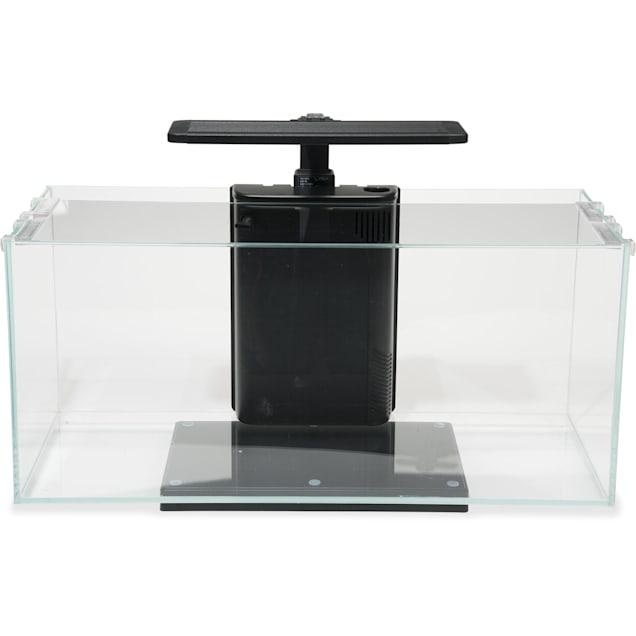 JBJ Rimless Desktop Series Flat Panel 10 Gallon Aquarium - Carousel image #1