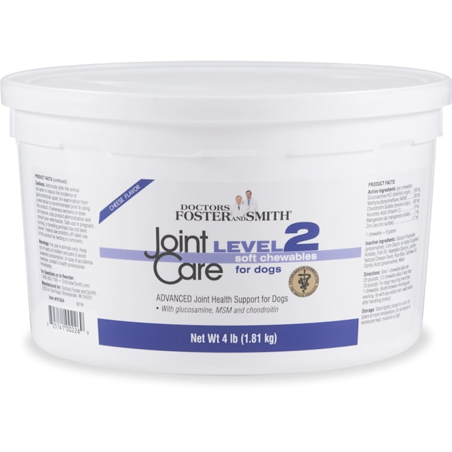 Drs. Foster and Smith Level 2 Joint Care Soft Chews for Dogs, 4 lbs. - Carousel image #1