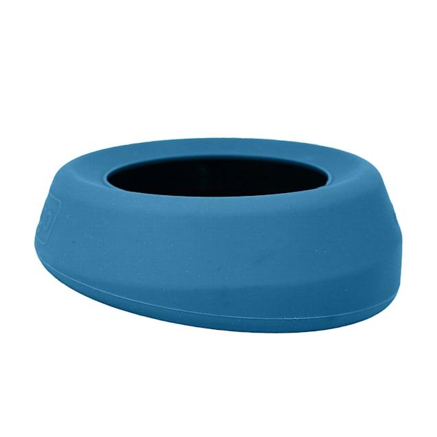 """Kurgo Splash Free Wander Dog Water Bowl, 7.3"""" L X 2.75"""" W X 7.3"""" H - Carousel image #1"""