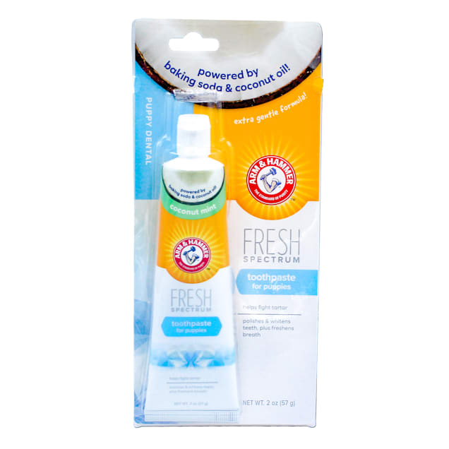 Arm & Hammer Fresh Spectrum Toothpaste for Puppies, 2 oz. - Carousel image #1