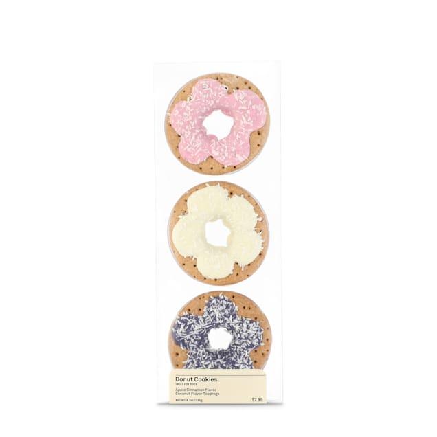 Happy Happenings Birthday Donut Dog Cookies, 4.7 oz., Pack of 3 - Carousel image #1