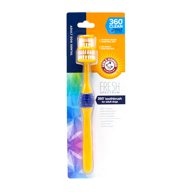 Arm & Hammer Fresh Spectrum 360 Degree Toothbrush for Adult Dogs - Carousel image #1