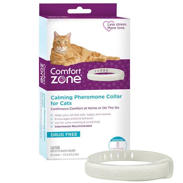Comfort Zone Cat Calming Collar, Pack of 1 - Carousel image #1