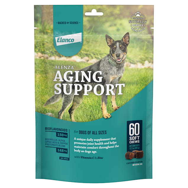 Bayer Alenza Soft Chews Aging Support for Dogs, Count of 60 - Carousel image #1