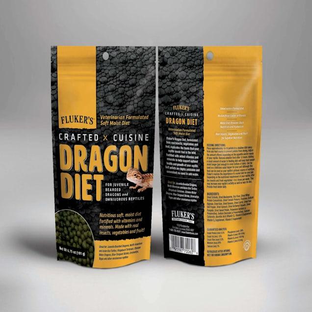Fluker's Juvenile Bearded Dragon Crafted Cuisine Diet Food, 6.75 oz. - Carousel image #1