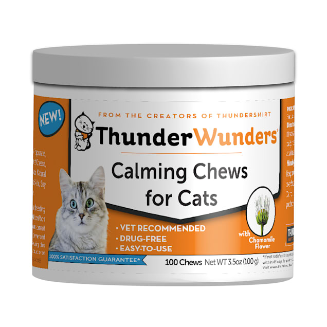 ThunderWorks ThunderWunder Calming Chews for Cats, Count of 100 - Carousel image #1