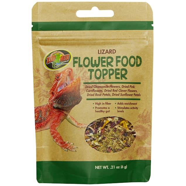 Zoo Med Lizard Flower Food Topper, 0.21 oz. - Carousel image #1