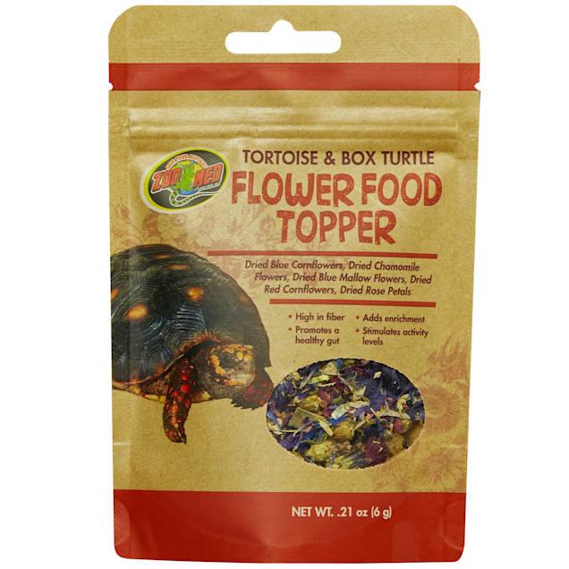 Zoo Med Tortoise & Box Turtle Flower Food Topper, 0.21 oz. - Carousel image #1