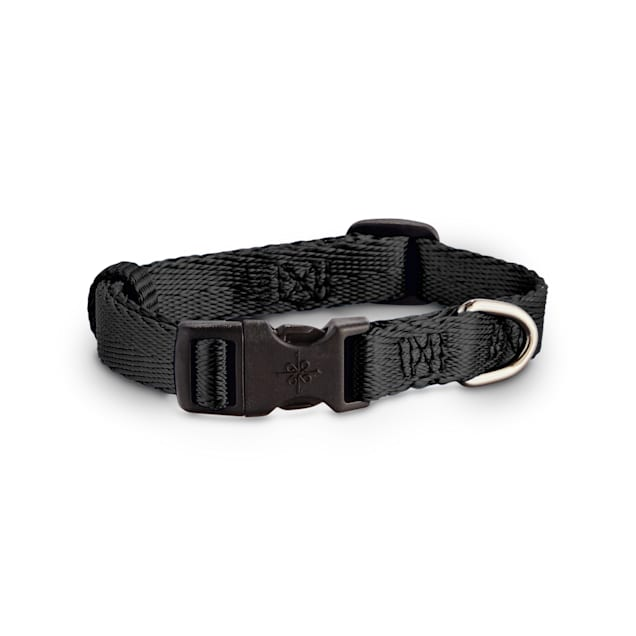 Good2Go Adjustable Black Nylon Dog Collar, Small - Carousel image #1