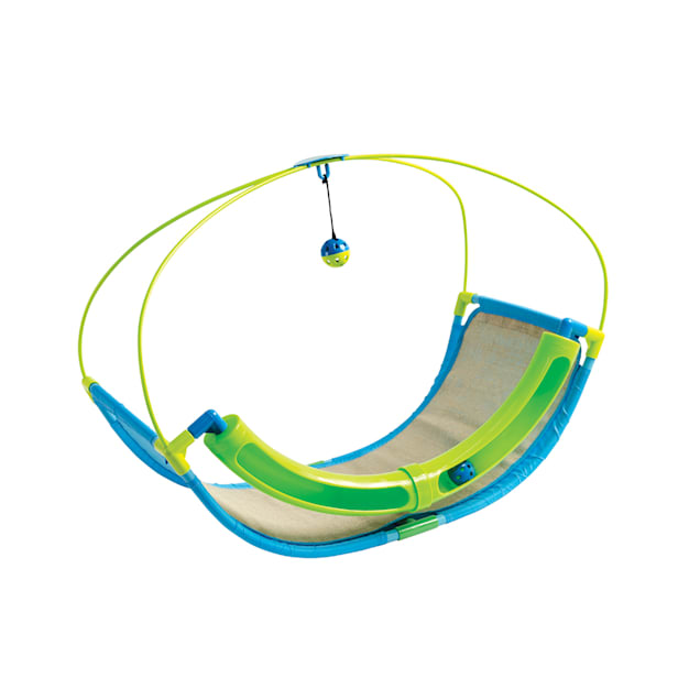 Pet Parade Rocking Playtime Station Cat Toys, Small - Carousel image #1