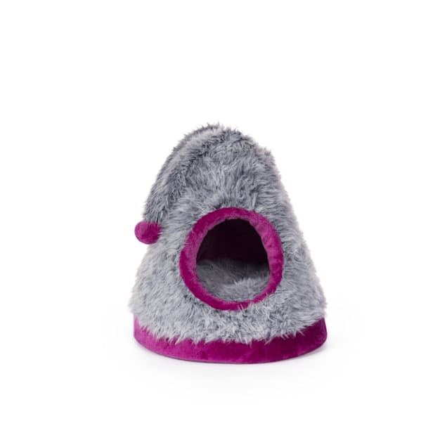 """Prevue Pet Products Kitty Power Paws Cozy Cap 705, 6.5"""" H - Carousel image #1"""