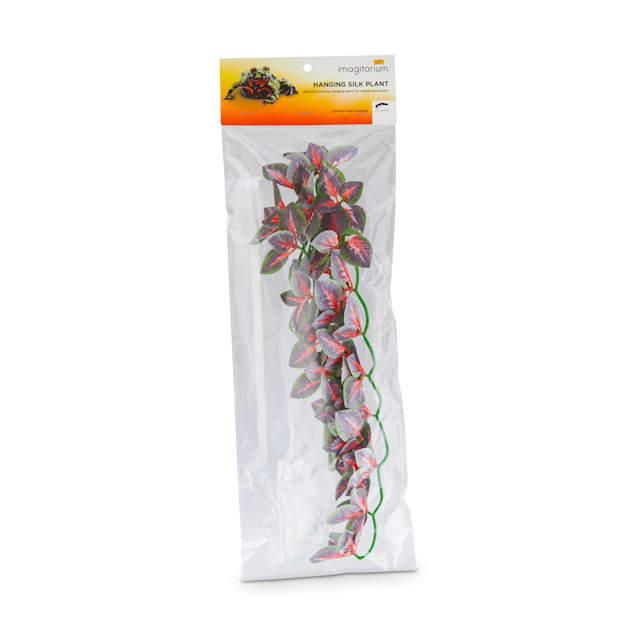 Imagitarium Hanging Red Silk Plant, Medium - Carousel image #1