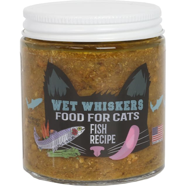 Wet Noses Wet Whiskers Fish Recipe Wet Cat Food, 4 oz., Case of 6 - Carousel image #1