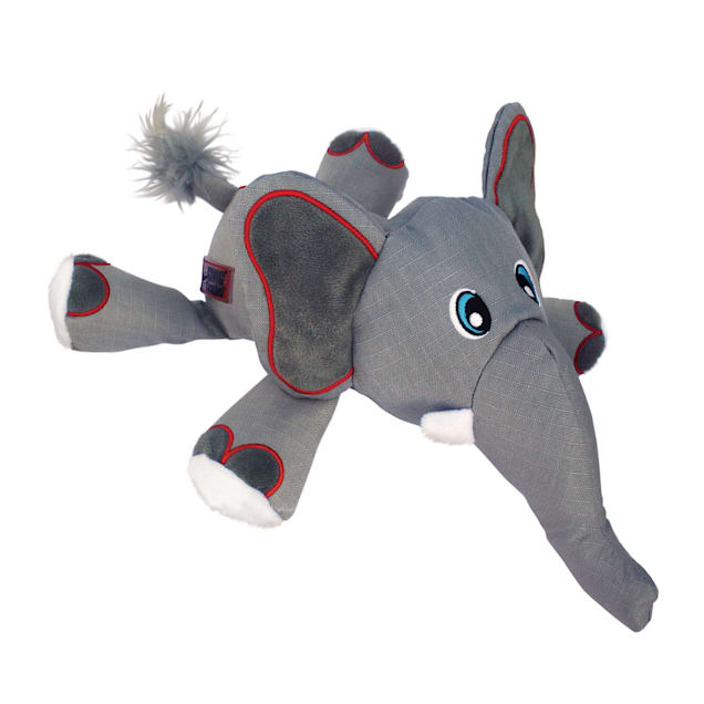 KONG Cozie Ultra Ella Elephant Chew Dog Toy, Medium - Carousel image #1