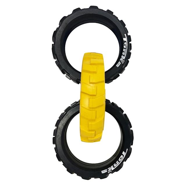 Tonka Flex Tread 3-Ring Tug Dog Toys, Medium - Carousel image #1