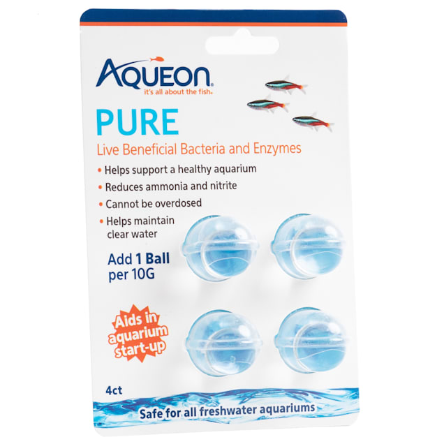 Aqueon PURE Live Beneficial Bacteria and Enzymes 4 ct. - Carousel image #1