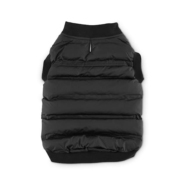 Reddy Black Nylon Dog Bomber Vest, Medium - Carousel image #1