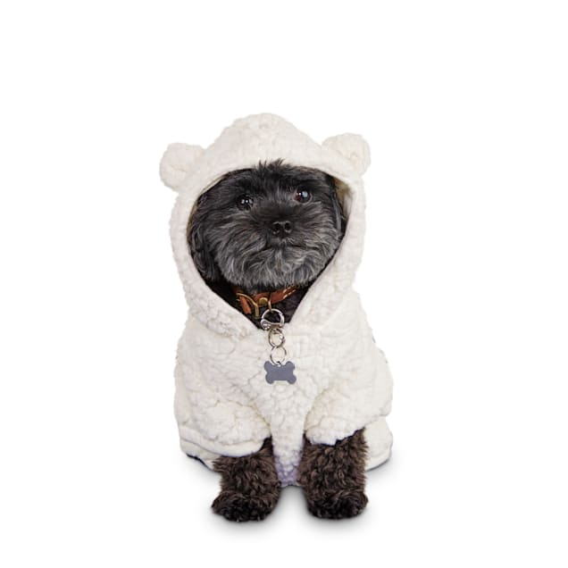 Bond & Co. Cozy Critter Dog Hoodie, XX-Small - Carousel image #1