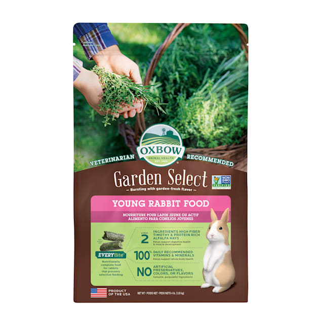 Oxbow Garden Select Young Rabbit Food, 4 lbs. - Carousel image #1