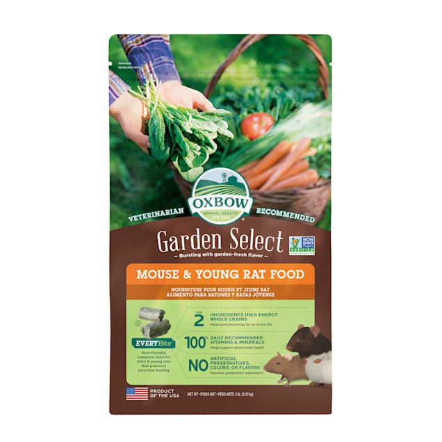 Oxbow Garden Select Mouse & Young Rat Food, 2 lbs. - Carousel image #1