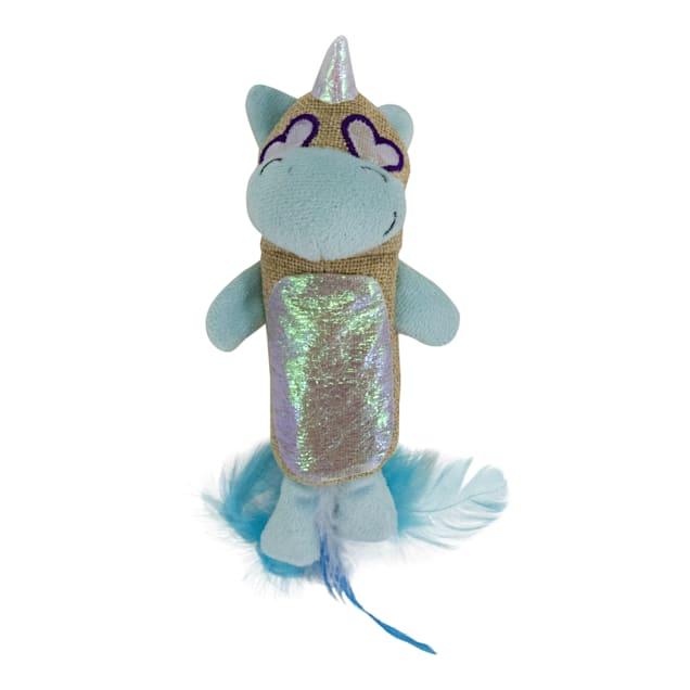 Petstages Unicorn Kicker Cat Toy, Medium - Carousel image #1