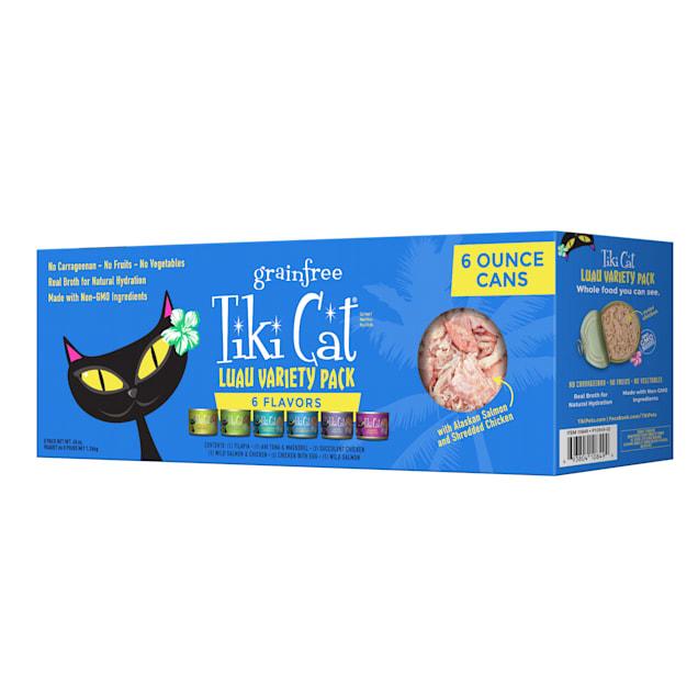 Tiki Cat Luau Variety Pack Wet Food, 6 oz., Count of 8 - Carousel image #1