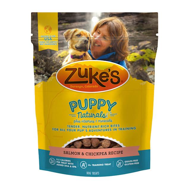 Zuke's Puppy Naturals Salmon and Chickpea Recipe Training Treats, 5 oz. - Carousel image #1