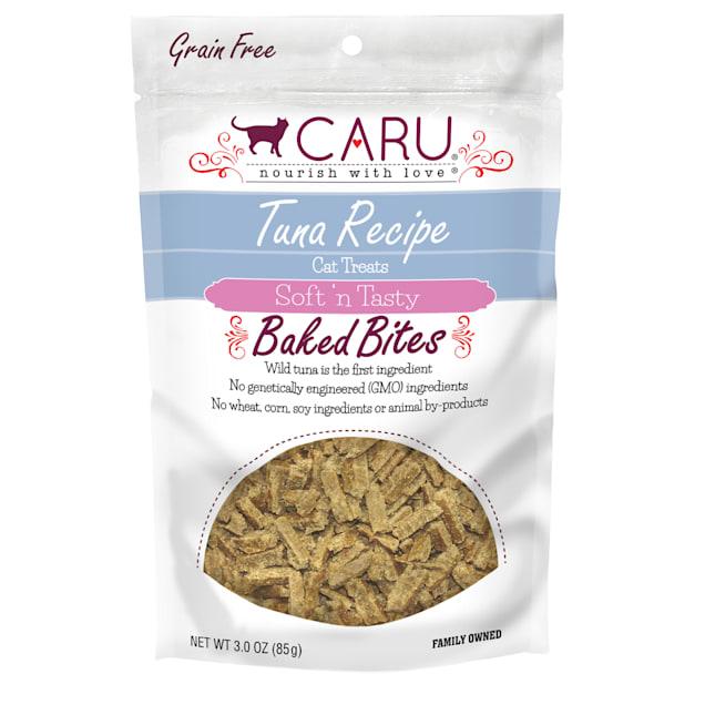 CARU Tuna Recipe Baked Bites Semi-moist Cat Treat, 3 oz. - Carousel image #1