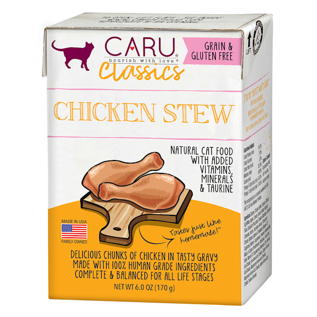 CARU Chicken Stew Wet Cat Food, 6 oz. - Carousel image #1