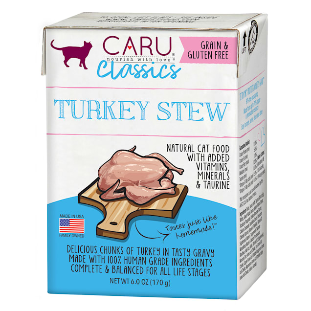 CARU Turkey Stew Wet Cat Food, 6 oz. - Carousel image #1