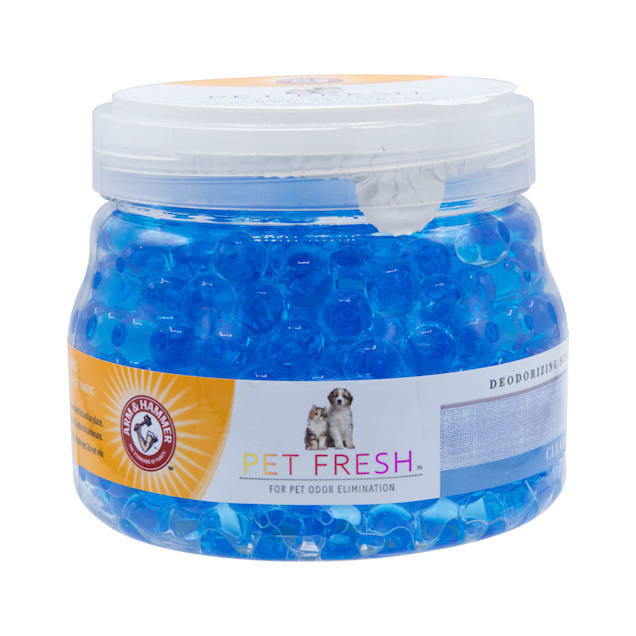 Arm & Hammer Pet Fresh Deodorizing Scented Gel Pearls Clean Linen for Dogs and Cats, 12 fl. oz. - Carousel image #1